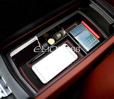 Interior Armrest Storage Box Organizer Holder 1pcs For Peugeot 3008 GT 2016 2017
