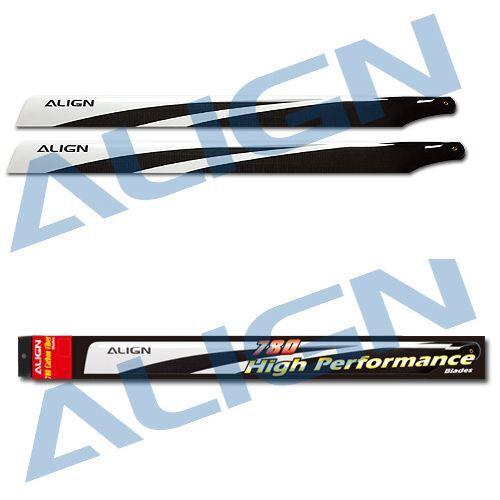 Align Trex 800E PRO/DFC 780 Carbon Fiber Blades HD780A