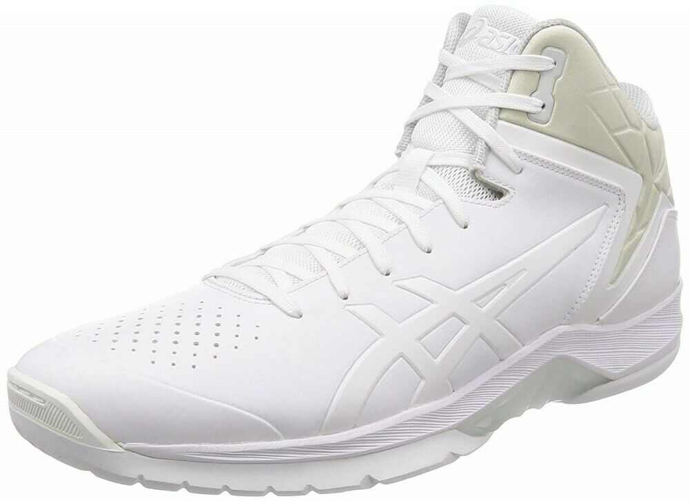Asics basketball shoes GELTRIFORCE 3 1061A004 WHITE WHITE