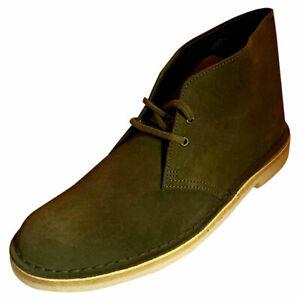 Clarks Originals Desert Boot Mens Dark