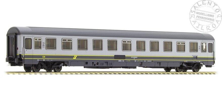L.S. Models 47463 coche EUROFIMA librea bigrigio (linea giallo) 2° cl FS