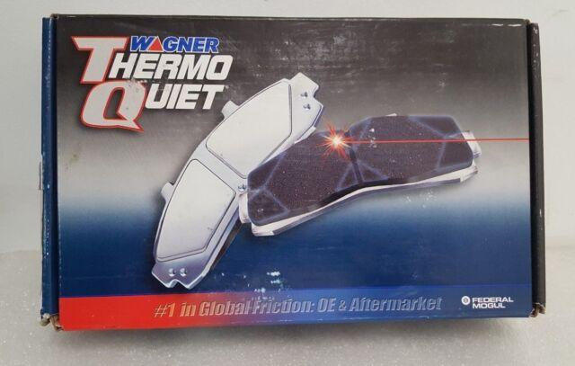 Disc Brake Pad Set-ThermoQuiet Disc Brake Pad Front Wagner MX1076