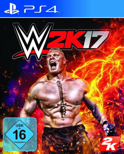 1 von 1 - WWE 2K17 (Sony PlayStation 4, 2016, DVD-Box) - European Version Wie Neu