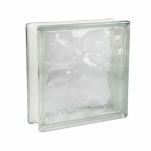 5-Stueck-Fuchs-Glasbausteine-Glassteine-Wolke-Klar-24x24x8cm