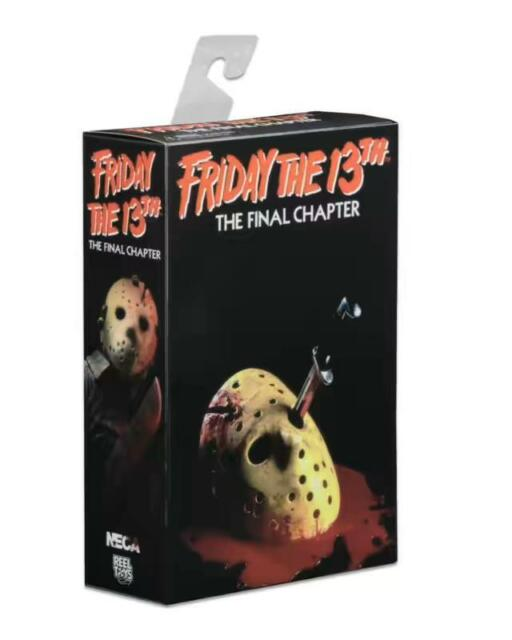 "Friday the 13th Final Chapter Jason 7"" Ultimate Action Figure 1:12 Part 4 NECA"