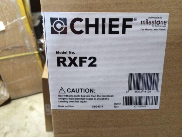 Helder Chief Rxf2 Fit Series Fixed Wall Mount Low Profile - 40-63 Inch Displays Aantrekkelijke Mode