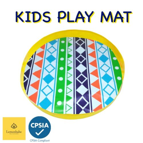 Large Portable Play Mat Kids Play Mat Oversized Round Water proof Beach Sand
