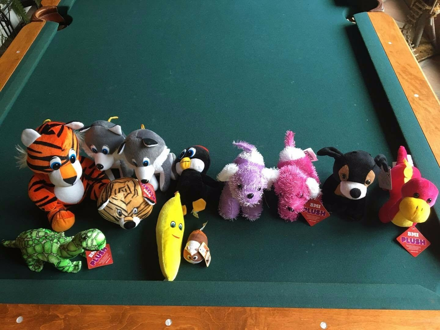 Lot of 12 - Asst BMI Plush Toys (6), Classic Toy Co. (4) & 2 Misc.-Party Favors