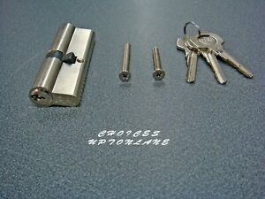YALE-EURO-DOUBLE-CYLINDER-6-PIN-SATIN-NICKEL-SIZE-40-60-100MM-B-ED3555-SNP