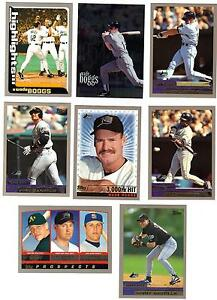 2000-TOPPS-TAMPA-BAY-DEVIL-RAYS-TEAM-SET-Aubrey-Huff-Wade-Boggs-McGriff-Canseco
