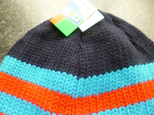 """FREE P/&P BOYS PEX  NAVY  KNITTED LINED /""""82/"""" HAT 4-7 YEARS"""