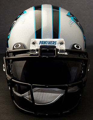 CAROLINA PANTHERS Riddell Speed S2BD Football Helmet Facemask//Faceguard BLACK