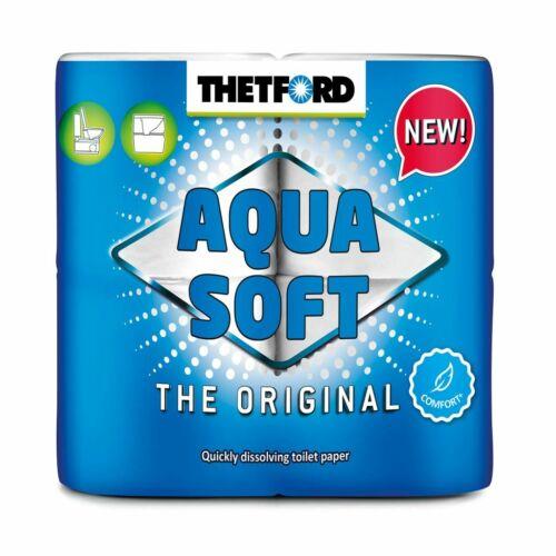 THETFORD Camping-Toilettenpapier Aqua Soft 4 Rollen