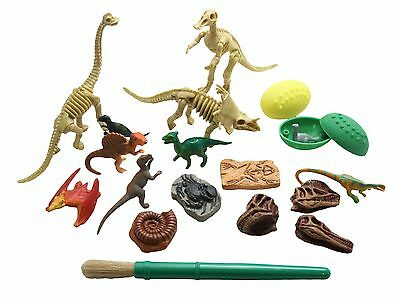 Dinosaur Dig #1 Excavation Sensory Bin Toy - Dino skeleton, fossil Game
