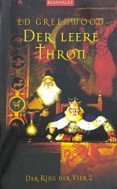 Der Ring der Vier/Der leere Thron von Bieger, Marcel