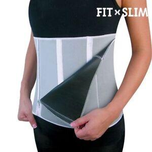 106bfb13c0 Fat Burner Sauna Tummy Tuck Belt Hot Body Shaper Magic Girdle For ...