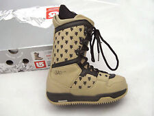 NEW! $250 Burton Shaun White Snowboard Boots! US 6, UK 5, Mondo 24, Euro 38  Tan
