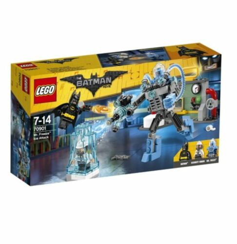 LEGO Batman Movie Mr.Freeze™ Ice Attack 70901 2017 Version Free Shipping