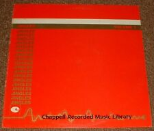 MUSIC LIBRARY CHAPPELL jingles volume 1 WOLFGANG KAFER*COLIN TOWNS 84 UK STEREO