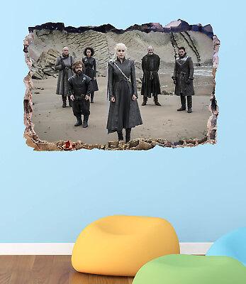 Game of Thrones Khaleesi Smashed 3D Wall Decal Sticker Vinyl Decor Art DA71