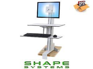 Ergotron-Worksurface-Multi-Media-Stand-amp-Large-Keyboard-Tray-359-ex-VAT