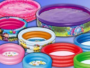 Minions, Mascha oder Trolls, Bestway o Mondo Toys Kinder Baby Pool Planschbecken