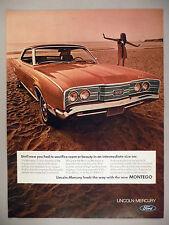 Mercury Montego PRINT AD - 1968 ~~ 1969 model