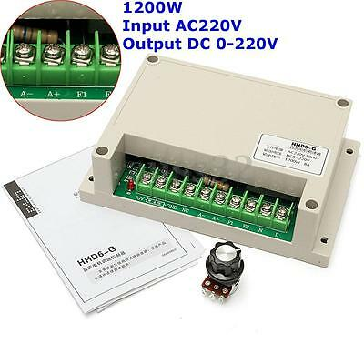 HHD6-G Input AC220V 8A Output DC 0-220V Motor Speed Controller 1200W 50Hz