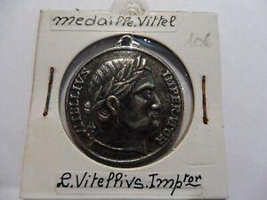 Ancienne Medaille De Vittel / Vosges - Tres Bel Etat - Sous Étuis ! Ture 100% Garantie