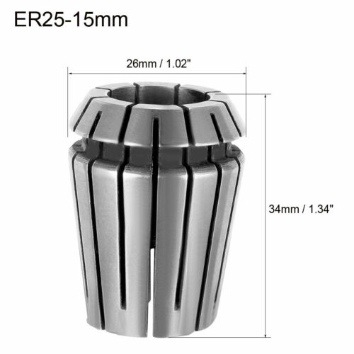 ER25 2mm-16mm Spring Collet Chuck for CNC Milling Lathe Tool Engraving Machine