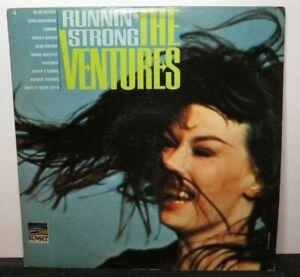 THE VENTURES RUNNIN' STRONG (VG+) SUM-1116 LP VINYL RECORD