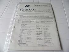 Sansui Factory Original Service Manual RZ-3000 Computerized Stereo Receiver