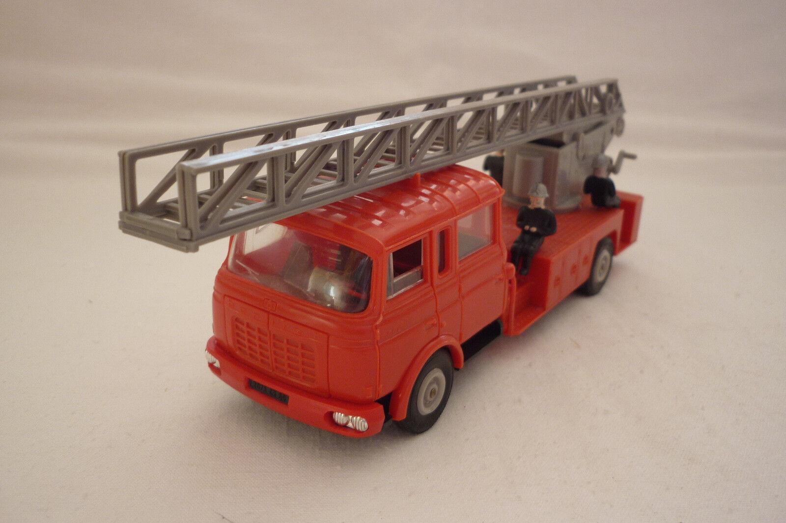 NOREV - Vintage Model 97 - Magirus - Fire Engine - (Nor 16)