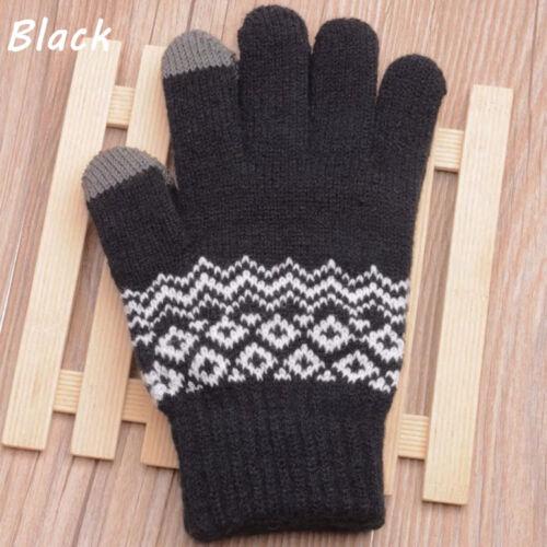 Winter Touchscreen Handschuhe Frauen Stricken Warme Handschuhe Aus Michigan