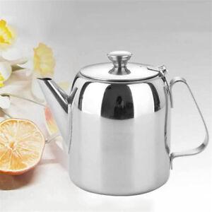 500ml 800ml Kaffee Teekanne Polierter Edelstahl Teekanne ...