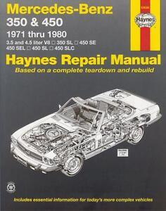 Mercedes-350-450-SL-SLC-R107-C107-SE-SEL-W116-Reparaturanleitung-workshop-manual