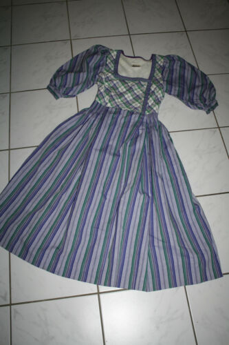 Miederdirndl bavaroise traditionnelle Dirndl Robe Vintage Kl2932 34 Robe 1Eatgwqcq
