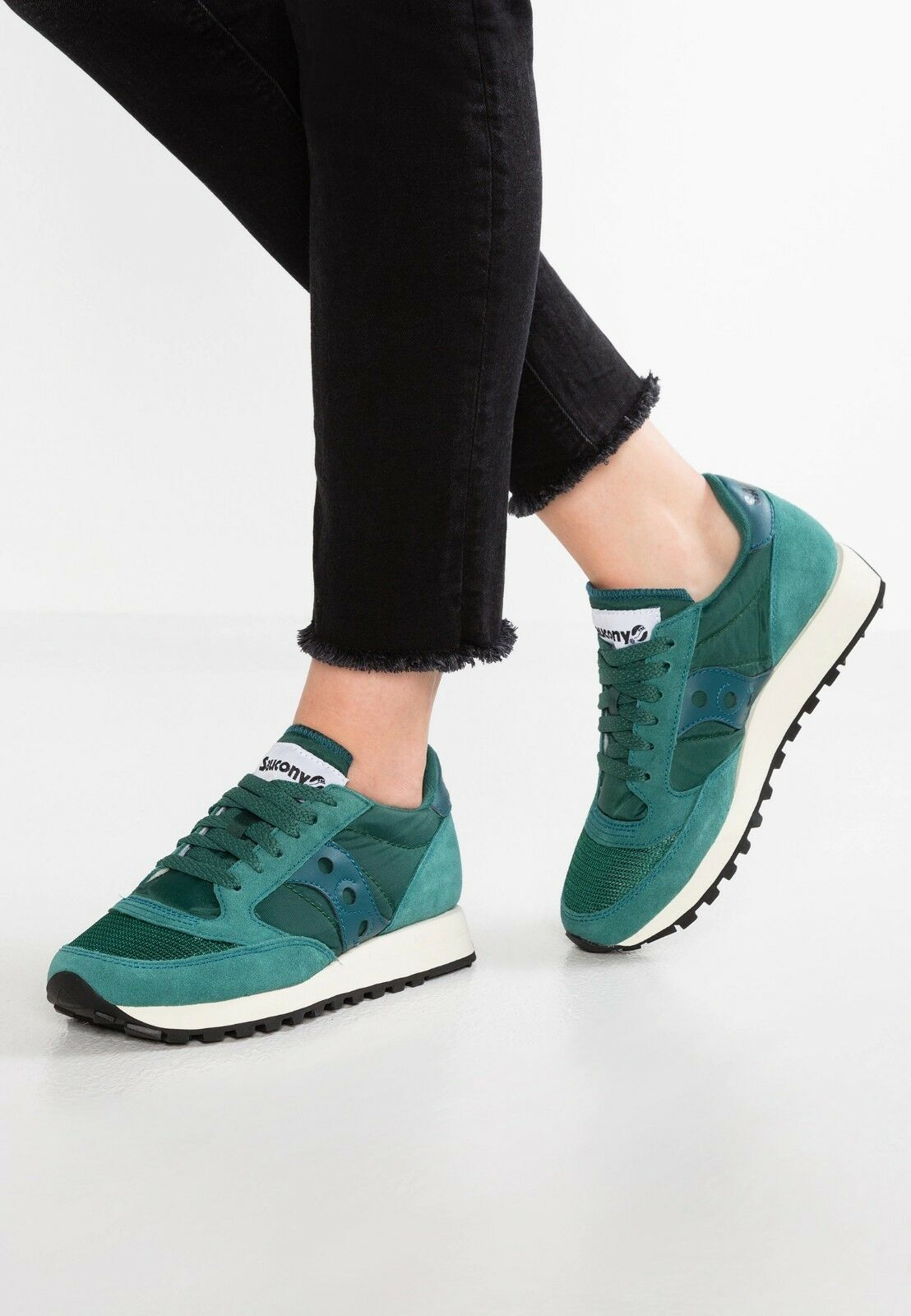 SAUCONY TURNSCHUHE SCHUHE JAZZ ORIGINAL VINTAGE S60368-4 BALTIQUE green