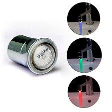 7 Farben Farbwechsel LED Licht Wasserhahn Wasser Armatur Aufsatz Ohne Batterie
