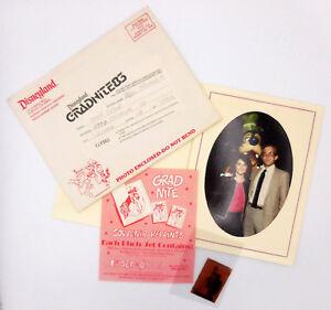 Disney-Grad-Nite-1983-Disneyland-Souvenir-Photo-plus-envelope-negative-flyer