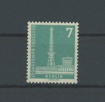 """Angemessen Berlin 135 W V Bauten 1949 """"dunkelbläulichgrün"""" Postfrisch ** Mnh Mi 15. Berlin 1948-1949 M534 Mit Traditionellen Methoden"""