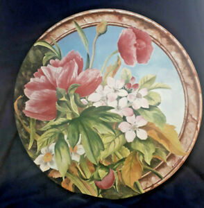 Gien-VOLUPTE-12-034-Cake-Plate-GREAT-CONDITION