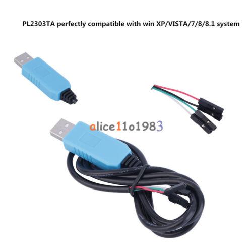 1//2//5//10PCS PL2303TA USB TTL to RS232 Converter Serial Cable Module For XP VISTA