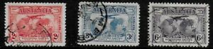 Australia-1930-Kingsford-Smiths-World-Flights-Postage-amp-Airmail-Used