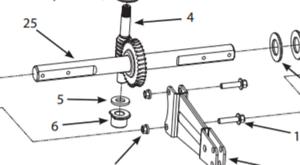Genuine Ardisam Earthquake 53413 Rear Tine Tiiler Transmission Dipstick OEM