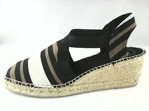 Image is loading TONI-PONS-Womens-SANDALS-TARBES-ESPADRILLES-Shoes-Striped-