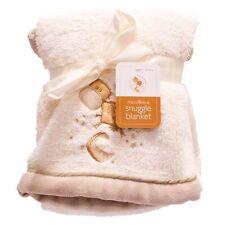 Babys unisex color panna / biancastro MORBIDA COPERTA Snuggle Wrap per nuovi nati neonati UK