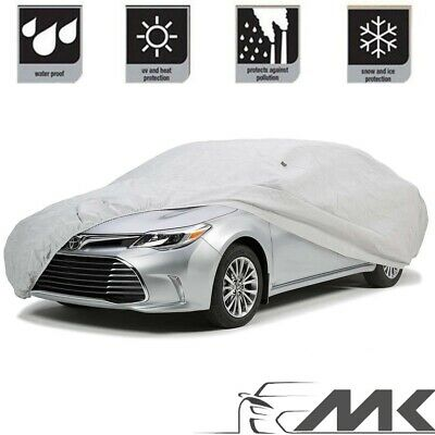 MITSUBISHI SHOGUN SWB ALL YEARS LUXURY FULLY WATERPROOF CAR COVER COTTON LINED