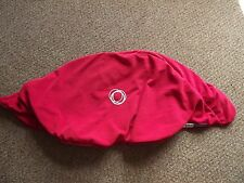 Genuine Bugaboo Cameleon Tailored Fleece Fabric Hood Canopy RED Also Fit FROG