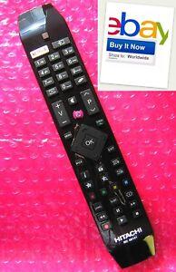 hitachi rc 49141  HITACHI Genuine Remote control LCD LED TV Fernbedienung Télécommande ...